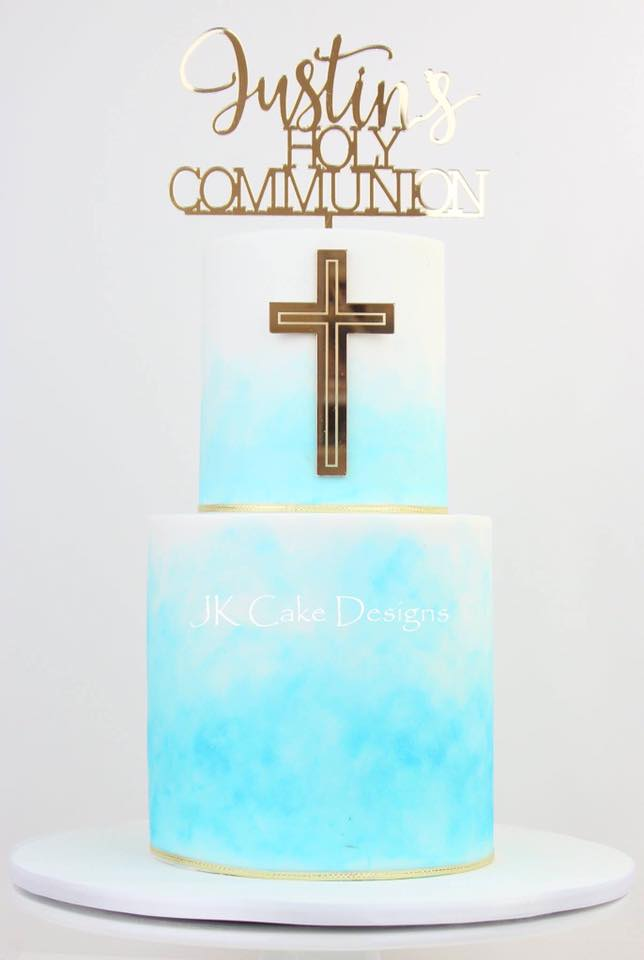 Religious Naming Ceremony Cakes Jk Cake Designs