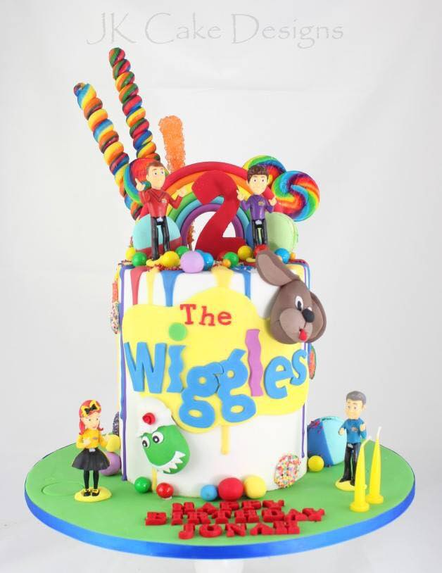 Excellent The Wiggles Drip Lollies Jk Cake Designs Birthday Cards Printable Opercafe Filternl